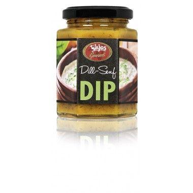 DILL SENF-DIP, 190g