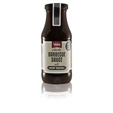 BARBECUE SAUCE MIT HICKORY RAUCHSALZ, 245 g