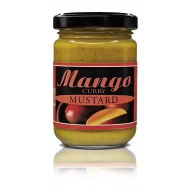 MANGO CURRY SENF, 145 ml